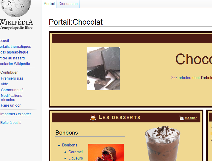 Chocolat Wikipédia