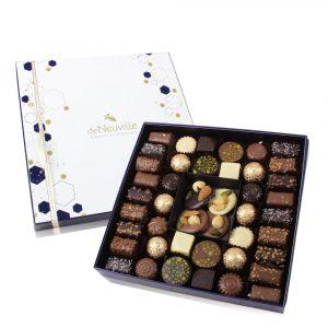 Coffret de chocolats de Noël De Neuville